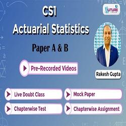 Actuarial Statistics